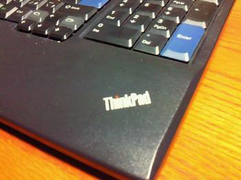 ThinkPadロゴの拡大図