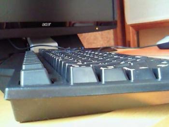 IBMキーボードの拡大図その2