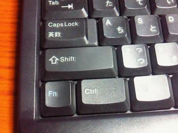 ThinkPad特徴のFnキー